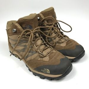 Womens 10 The North Face Storm II Mid Brown Shoes